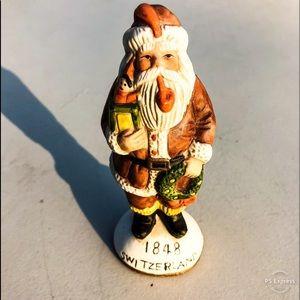 🆕List! SWITZERLAND Old World Santa Figurine! VTG